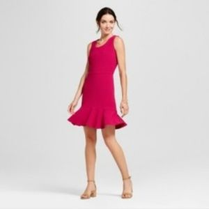 A New Day A Line Crepe Dress
